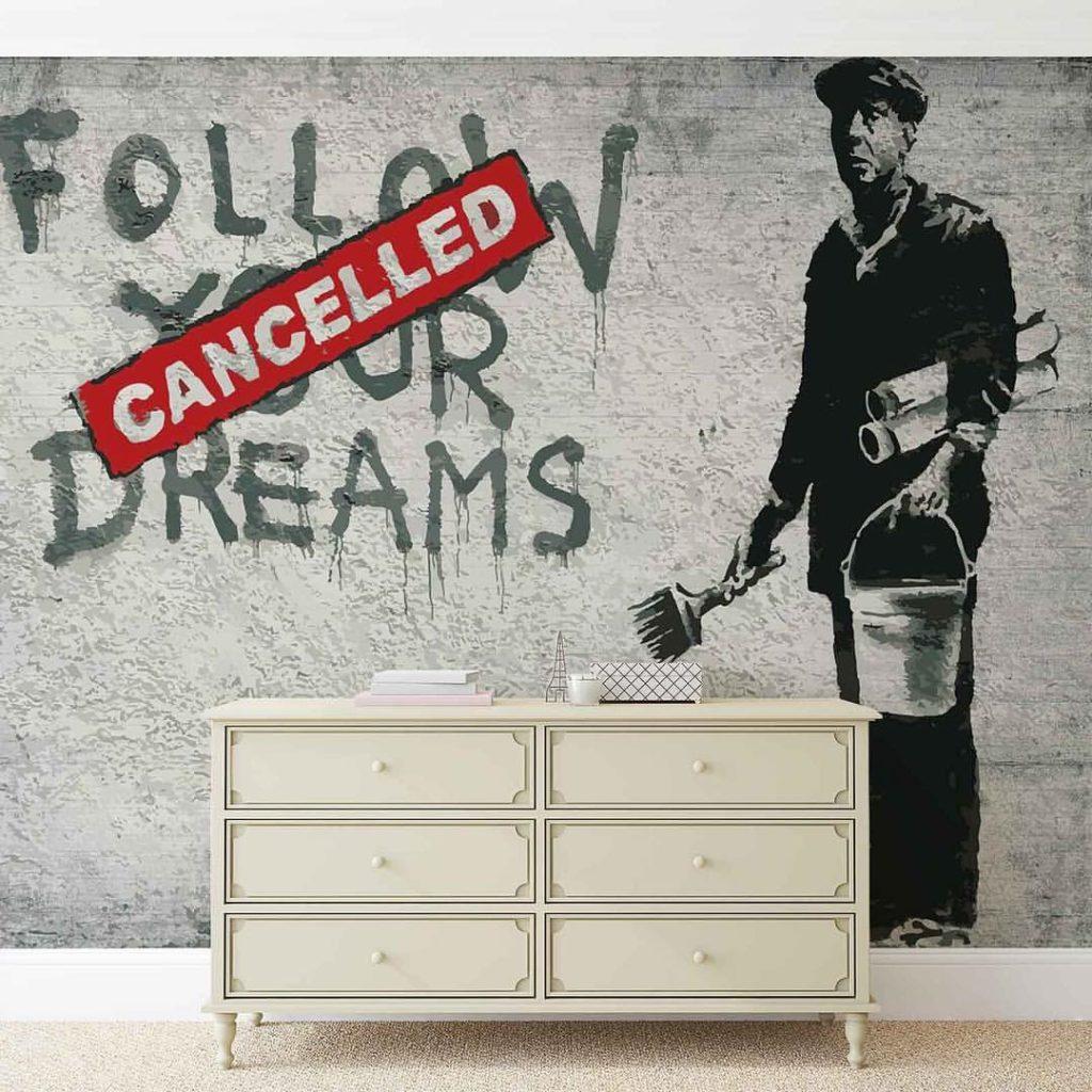 Banksy Poster Banksy Graffiti