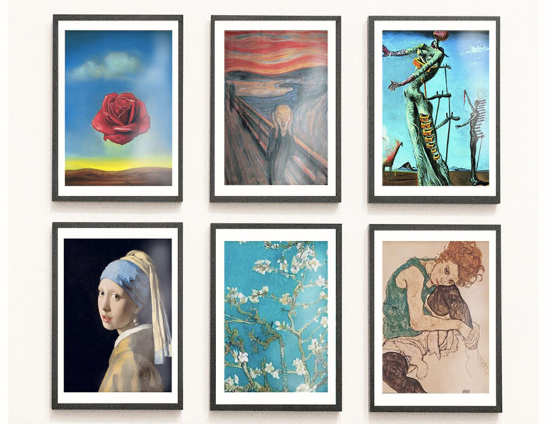 Inspiration: Berühmte Maler für euer Zuhause