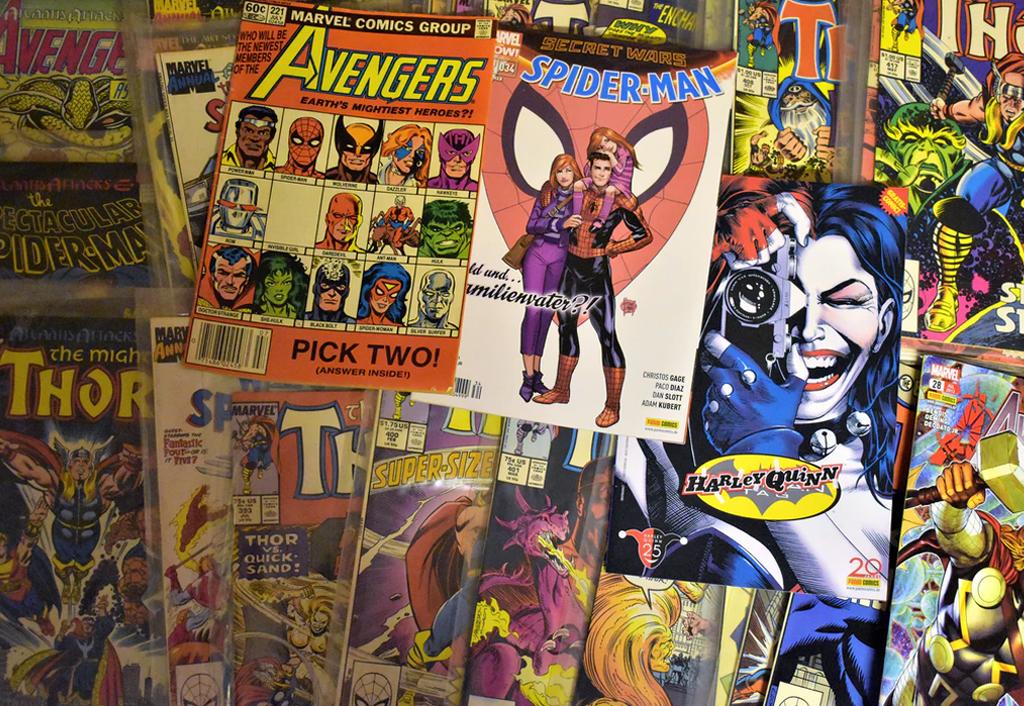 Witzige Fakten über Comics!