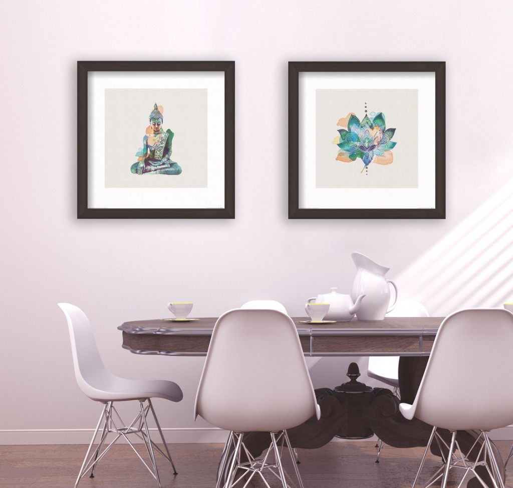 How To: Decorate With Asian Inspired Art