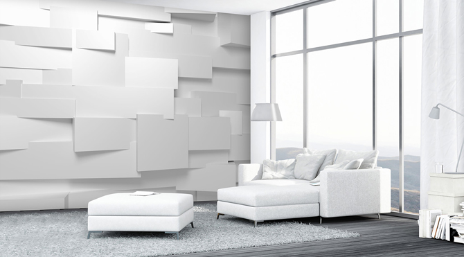 3D-Wall Wallpaper Mural; 45,00 €