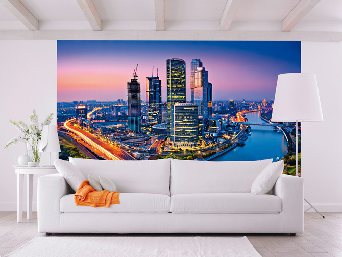 MOSCOW TWILIGHT Wallpaper Mural; 45,00 €