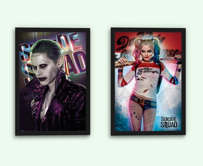Suicide Squad - Daddy's Lil Monster and Joker Posters; 5,99 € each