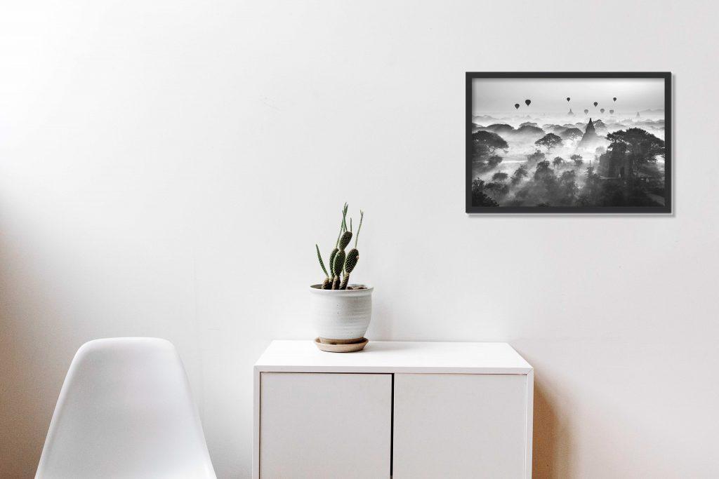 DIY: Cum să așezi o poză pe perete
