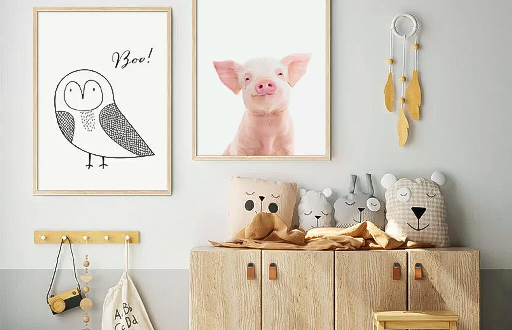 Part No. 3: How to decorate children's room or a room for a teenager