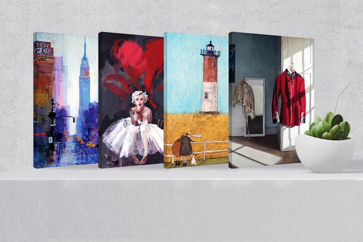 Inspiración: Canvas-Viejos Materiales como parte de tu Interior