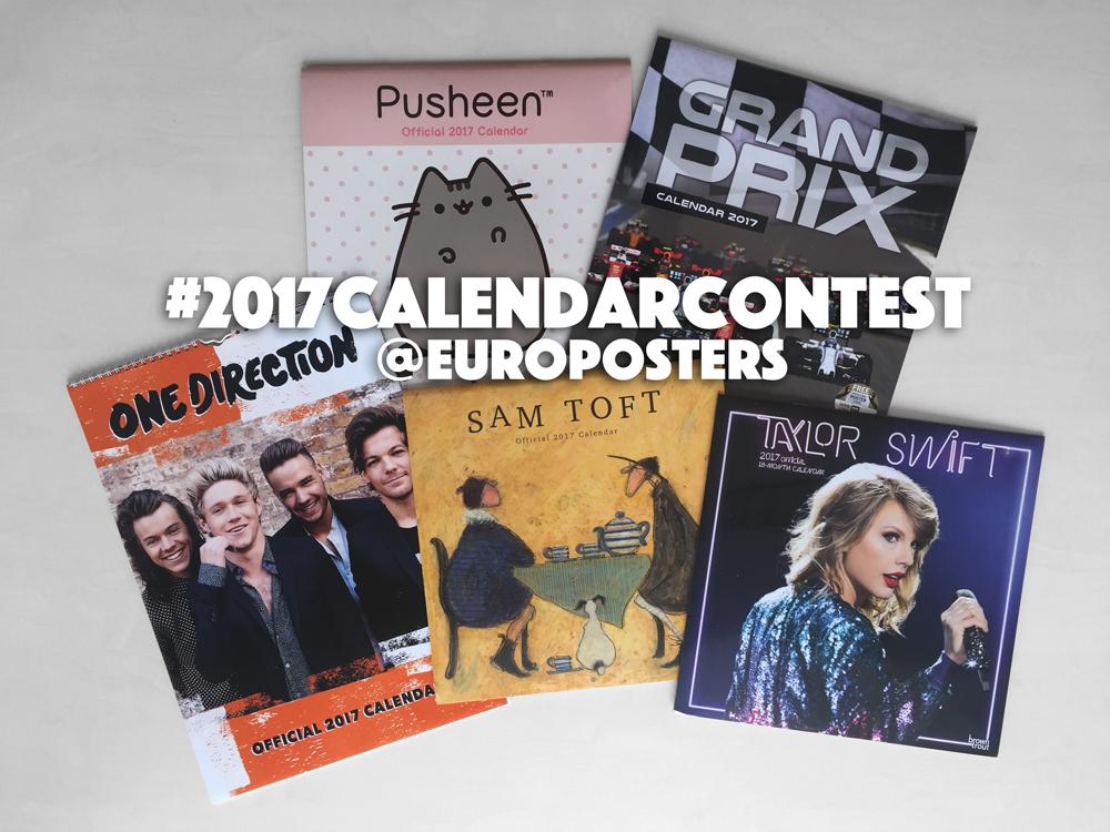 Kilpailu: Voita 2017 seinäkalenteri!