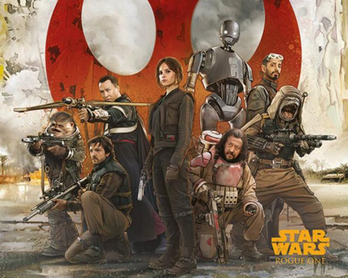 Rouge One: Star Wars Story - Rebels-juliste, 4,79€