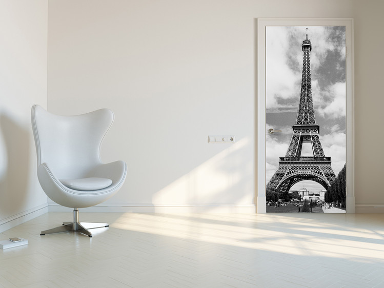 La tour Eiffel en poster de porte