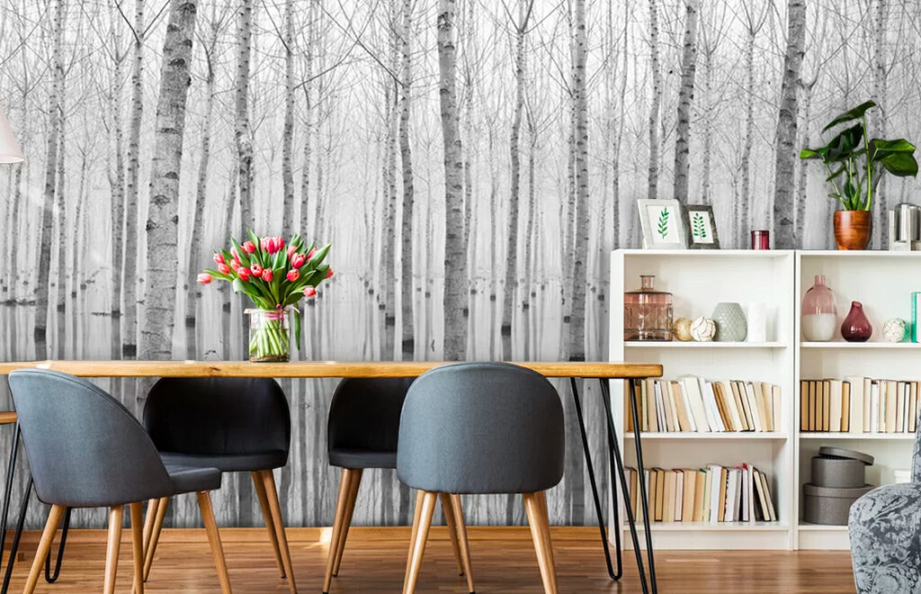 Wall Murals: How to choose and hang them