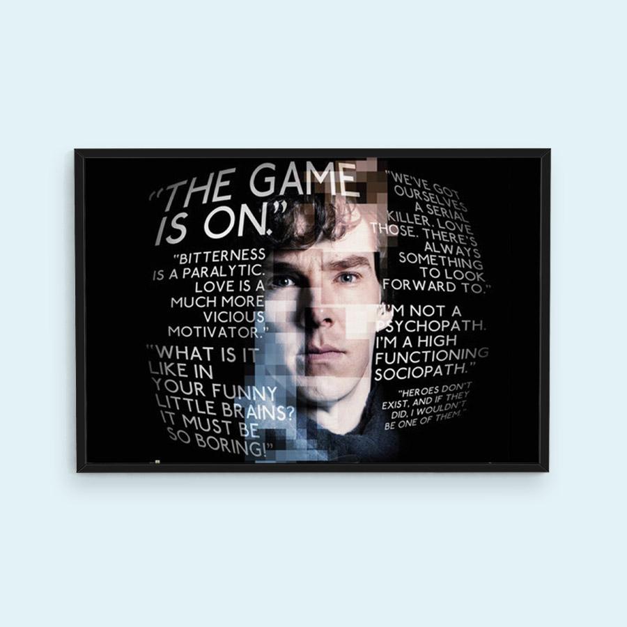 Sherlock Quotes Poster; prezzo 5,99 €