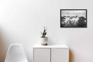 DIY: Hoe hang je een foto aan de muur.