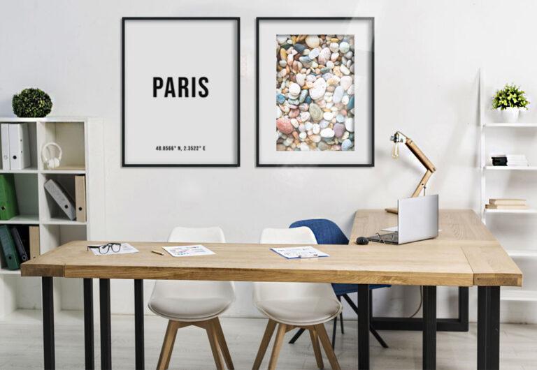 Motiver (deg selv) på kontoret med nydelige dekorasjoner!