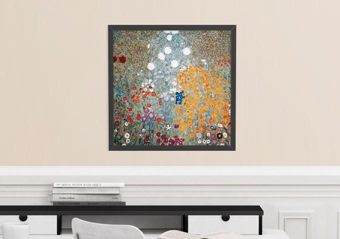 """Reprodukcja """"Ogród kwiatowy"""" od Gustava Klimta za 109 zł"""