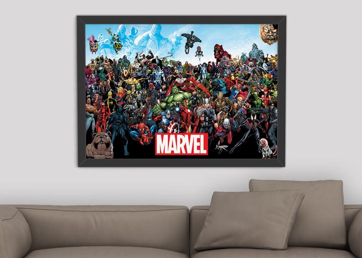 Plakat Marvel Universe za 17,90 zł