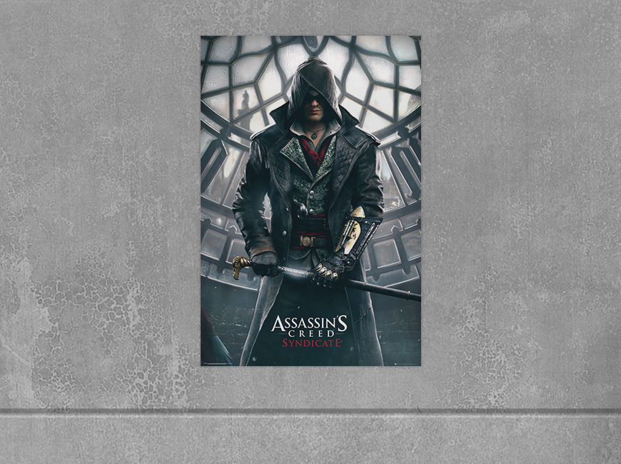 Plakat Assassin's Creed Syndicate - Big Ben za 17,90 zł.