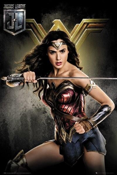 Plakat Liga Sprawiedliwych - Wonder Woman, 17,90 zł