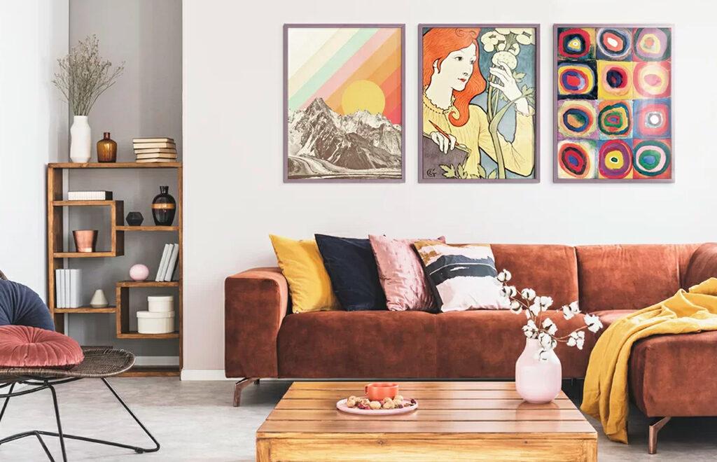 Del 1: Nasveti, kako narediti svojo dnevno sobo bolj prijetno