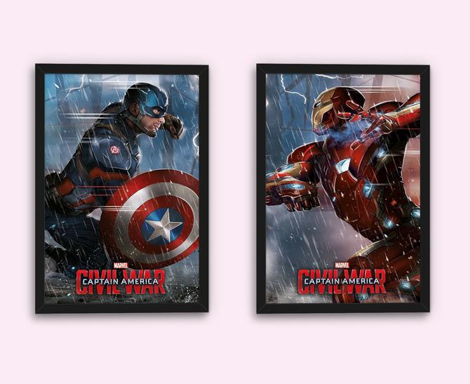 Plagát Captain America: Občianska vojna, akčná cena 1,80 € (bežná cena: 5,99 €)