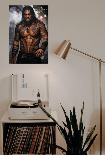 Plagát Aquaman, Justice League, Jason Momoa na Posters.sk