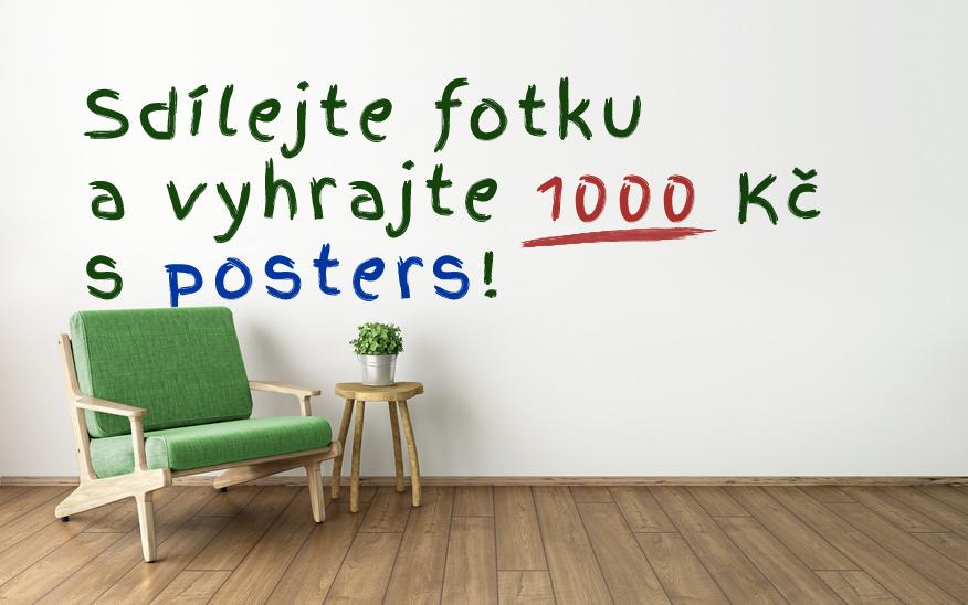 Sdílejte fotku a vyhrajte poukaz na 1000 Kč!