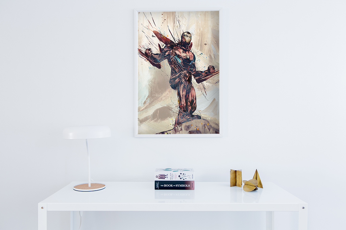 Iron Man - Wall Murals, Keyrings, Canvas prints, Posters