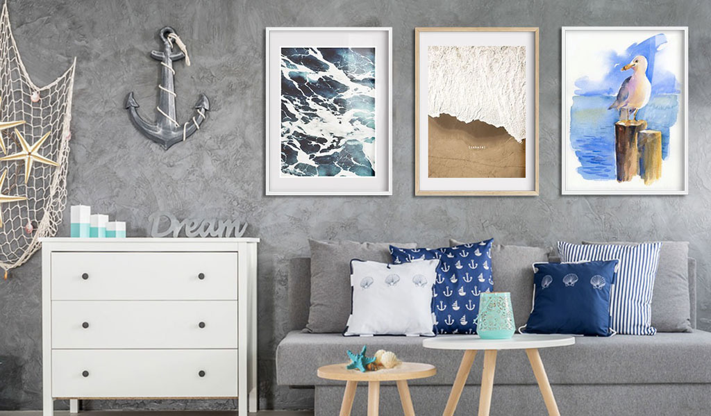 Poradíme vám: Jak kombinovat  obrazy na zdi
